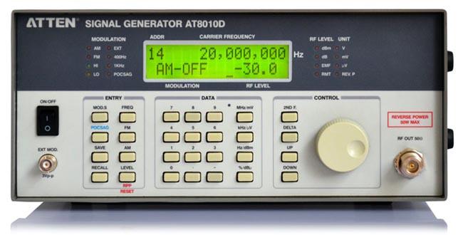 Generador de señales de 1 GHz
