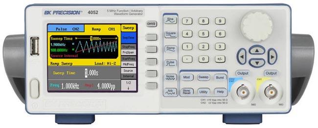 Generadores de función y forma de onda arbitraria