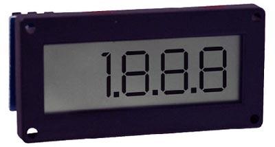Medidor de panel digital LCD