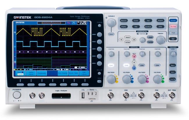 Aplicaciones para osciloscopios digitales