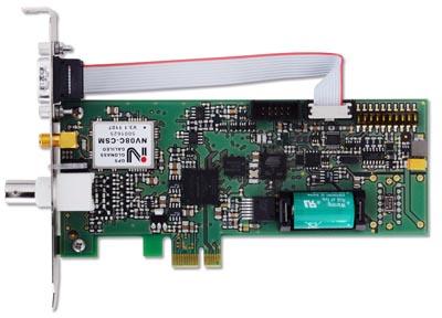Tarjeta PCIe con receptor GPS / GLONASS