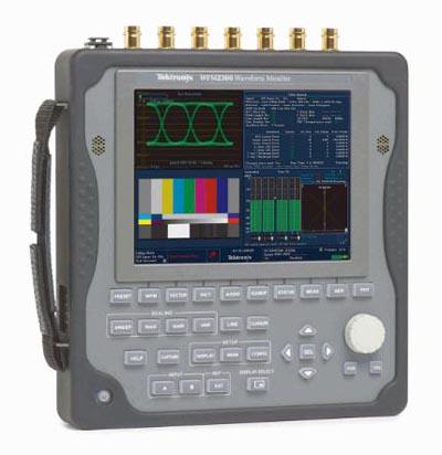 Monitores de forma de onda portátiles