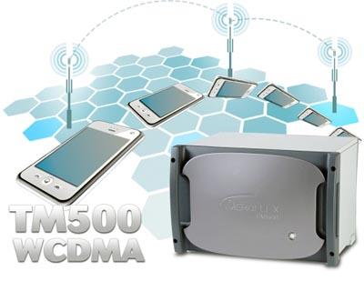 Simulador de teléfono WCDMA completo