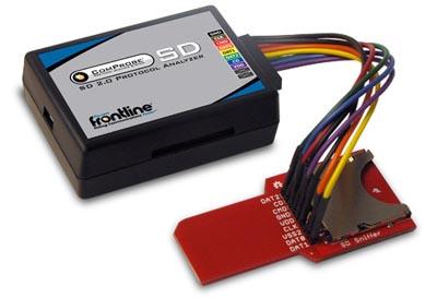 Analizador de protocolos para tarjetas SD