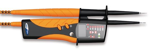 Detector de tensión y fases