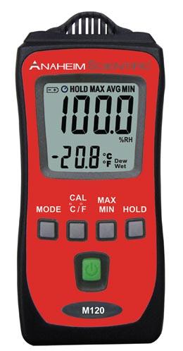 Mini medidor de temperatura y humedad