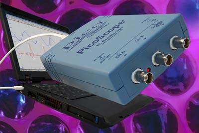Osciloscopios USB de 10 a 200 MHz