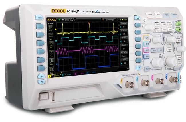 Osciloscopio digital de 100 MHz y 1 Gs/s