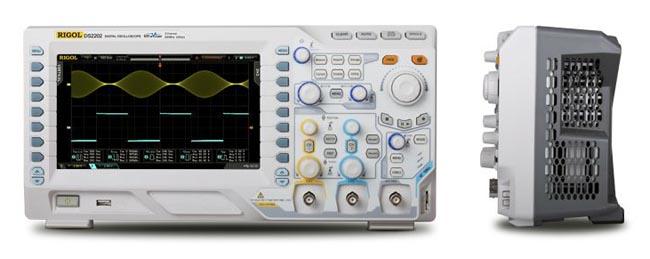 Osciloscopio digital con generador de ondas