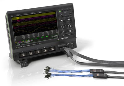 Capacidades de señal mixta para osciloscopios de alta definición