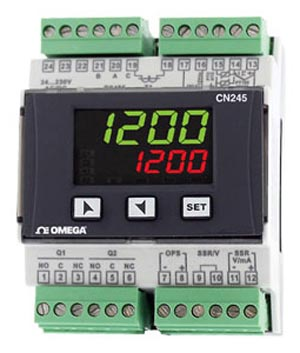Controlador universal de proceso y temperatura