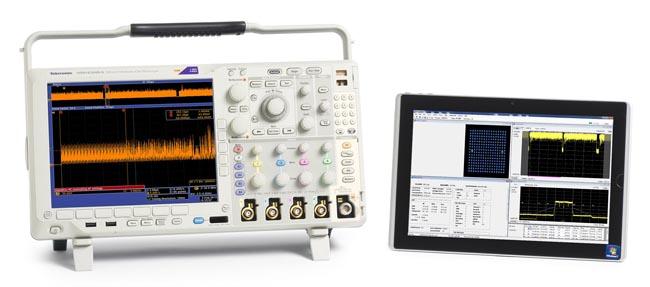 Osciloscopios con análisis de espectro