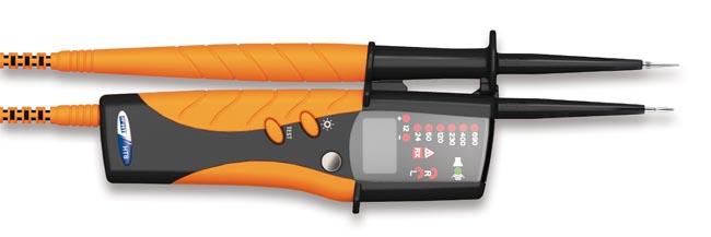 Detector de tensión con visualizador