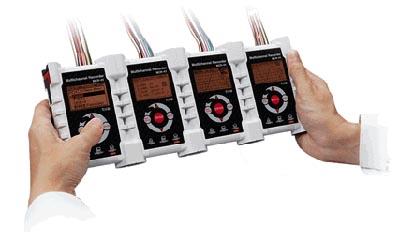 Registrador de temperatura multicanal