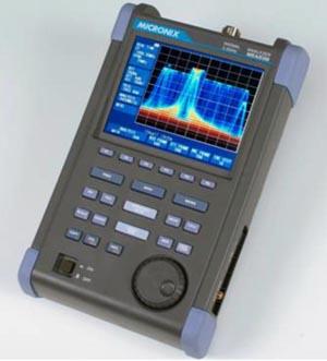 Analizadores de espectro portátiles