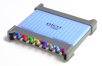 Osciloscopio USB de ocho canales