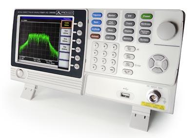 Analizador de espectros de 3 GHz