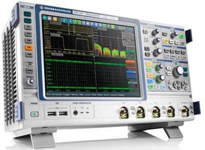 Osciloscopios con herramientas de análisis