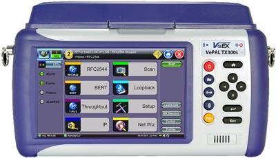 Analizador de señales con VeExpress