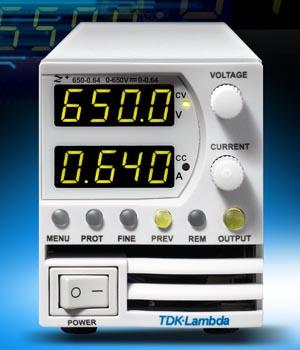 Fuentes programables de 200 y 400 W