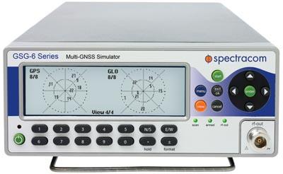 Simuladores de señales GNSS