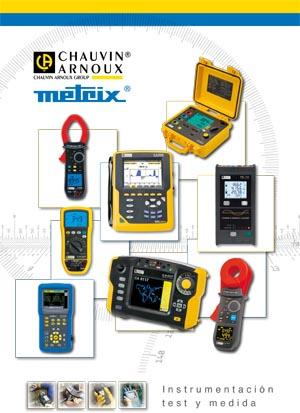 Catálogo de instrumentos de medida