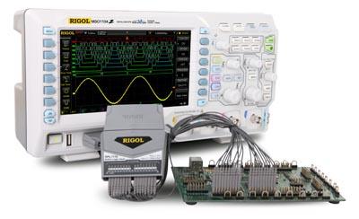 Osciloscopios digitales para señales mixtas