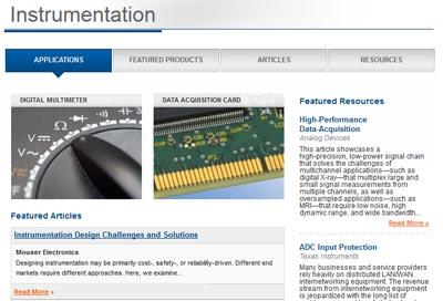 Nueva web de instrumentación
