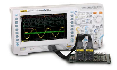 Osciloscopios digitales de señales mixtas