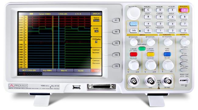 Osciloscopios profesionales y económicos
