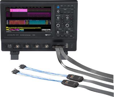 Osciloscopios con interfaz de usuario avanzado