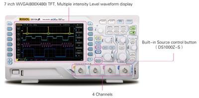 Osciloscopio de cuatro canales de 50 MHz