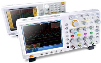 Osciloscopios desde 30 hasta 200 MHz