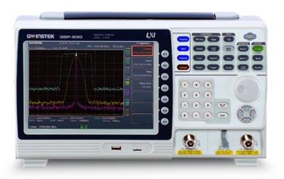 Analizador de espectro ligero y compacto