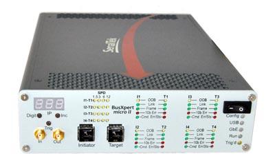 Analizador de puertos SAS/SATA