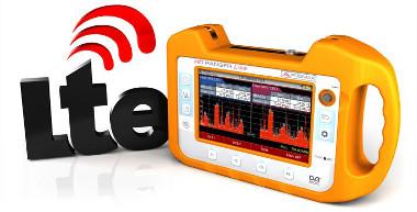 Medidor de campo con LTE