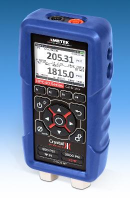 Calibrador de presión portátil