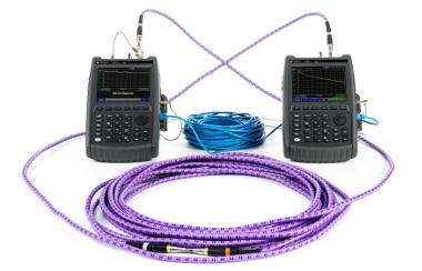 Analizadores de cables para trabajos en campo