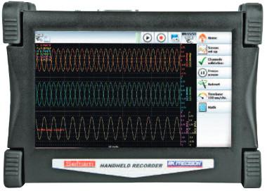 Tablet grabadora de datos digitales