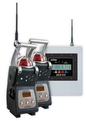Detector inalámbrico de gases