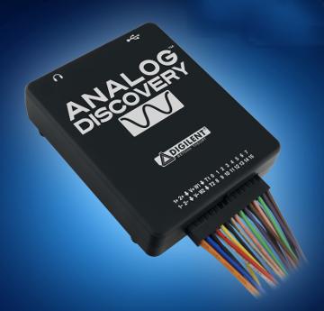 Osciloscopio para circuitos analógicos y digitales
