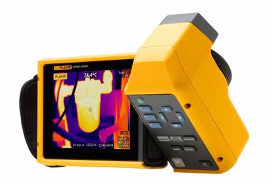 Cámaras termográficas con pantalla táctil LCD