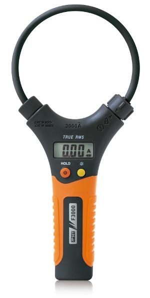 Pinza amperimétrica TRMS flexible