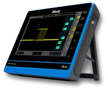 """Osciloscopios en formato Tablet de 10.1"""""""