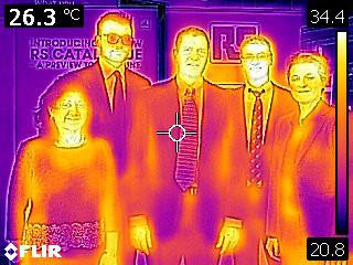 Acuerdo de distribución en termografía