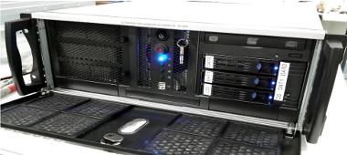 sistema de grabación de datos multi-terabyte