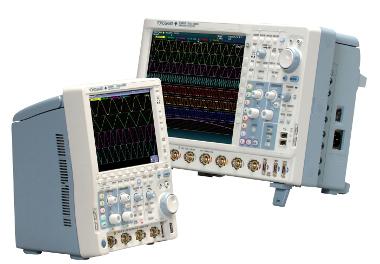 Osciloscopios con opciones de bus serie