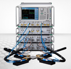 y El analizador vectorial de redes de banda