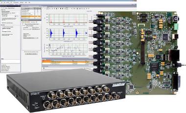Módulo de adquisición de datos para análisis de sonido y vibraciones