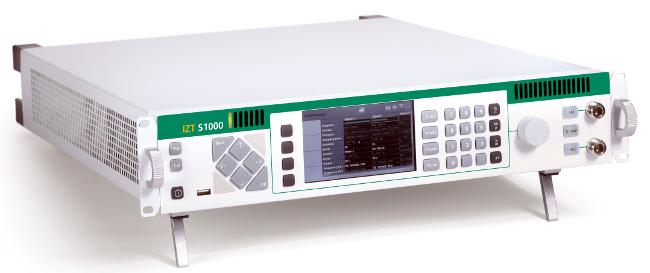 Generadores de señal con nuevas funciones DAB y DBM